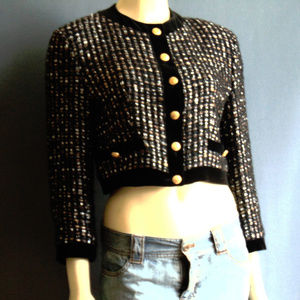 Louis Feraud HP! 🌻💞 Tweed Cropped Jacket 10